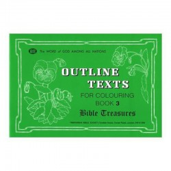 Bible Treasures Coloring Book 3 - Outline Texts