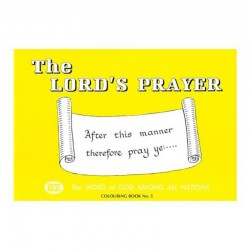 """Lords Prayer"" Coloring Book 5"