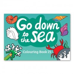 """Go Down to the Sea"" - Coloring Book 21"