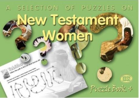 New Testament Women Puzzle Book