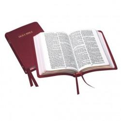 Royal Ruby Text KJV Bible -Burgundy - Leather