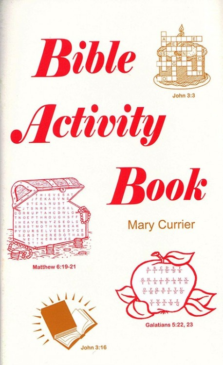 Bible Activity Book