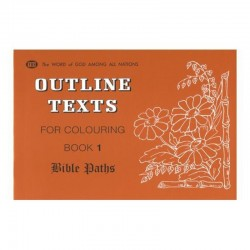 Outline Texts Coloring Book 1