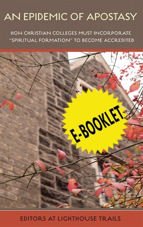 E-BOOKLET - An Epidemic of Apostasy