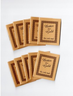 Tiny Evangelism Booklets: Better Than Gold (10 Pack)