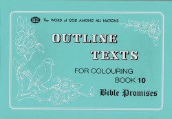 Bible Promises - Coloring Book 10